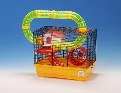 Mascota hámster jaula de alambre de distribución de productos con ...
