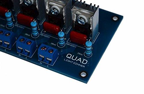 4 Channel Digital Ac Programmable Light Dimmer Module Controller
