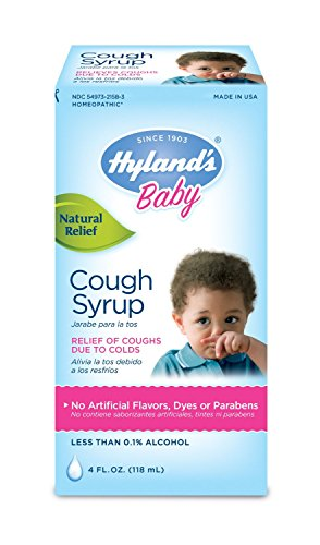 Hyland's Baby Cough Syrup, Natural Relief of Coughs Due to Colds, 4 Ounces ()
