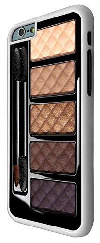 568 - Fashion Make-Up Palette Print design Design iphone 6 Plus / iphone 6 Plus 5.5'' Coque Fashion Trend Case Coque Protection Cover plastique et métal - Blanc