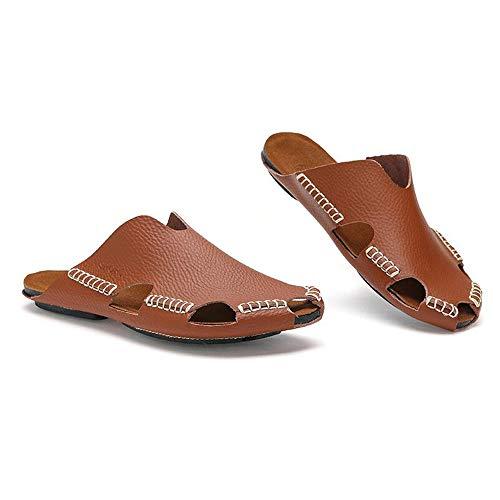 para el Brown para para Otoño Zapatillas de de Respirables Aptas Interiores Zhou Verano Frescas Sharon Primavera Verano Zapatillas de Hombres Ocasionales Vi Reddish Exteriores Playa Zapatillas Ligeras Opcionales AzHWqwxpR