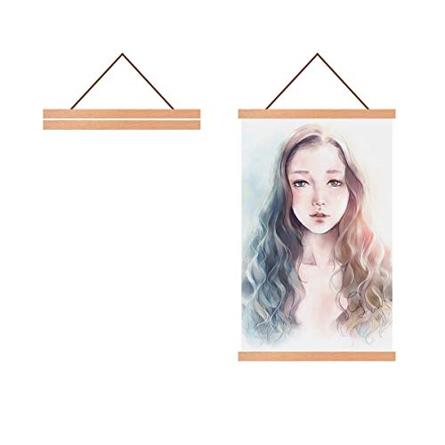 - Radezon 16x20 16x24 Poster Frame, Magnetic Wood Frame Frames for Photo Picture Canvas Artwork Wall Hanging (16 inch)