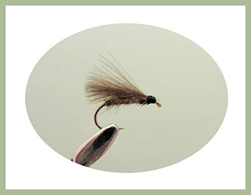 6 Unidades CDC Orejas F Mosca para Pesca con Mosca Moscas de Trucha TroutfliesUK F Fly elecci/ón de tama/ños