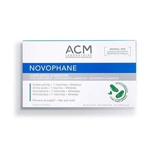 ACM LABORATOIRE NOVOPHANE caps Anti Hair loss Alopecia Treatment nails fragility Ships to WorldWide by Hair Care