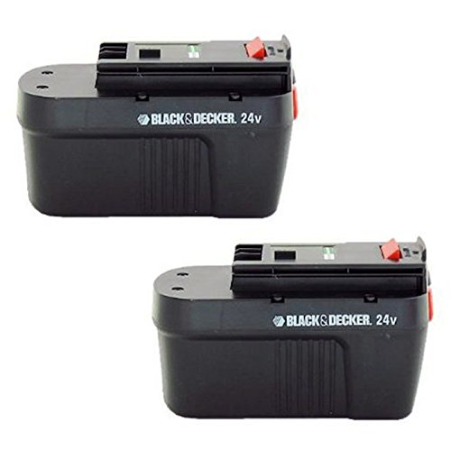 - Black & Decker 5103040-11 HPB24 2-Pack 24 Volt NiCad battery pack