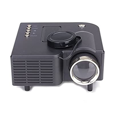 Lary intel HD 1080P LED Multimedia Mini Projector Home Theater Cinema VGA HDMI USB SD