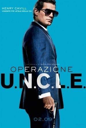 Poster Station UK The Man from Uncle Henry Cavill Italien Film Affiche Affiche Imprimer Image 30.4 x 43.2cm Taille Affiche de Film