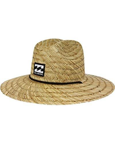 Billabong Men's Tides Straw Hat, Natural, One