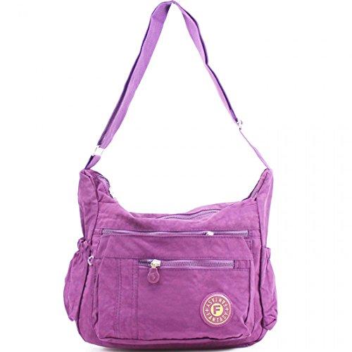 Beige Pochette pour Craze Style2 femme London Beige Purple x5IqqEZn