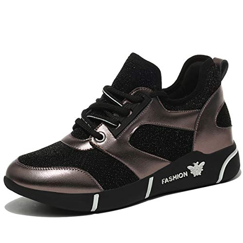 Gun AJUNR super sportive da scarpe scarpe nuova Moda ginnastica scarpe signore Donna fuoco le color Alla autunno delle scarpe rXOFTrq