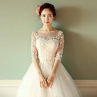 千恵モール 花嫁ドレス 白 ウェディングドレス パーティードレス 二次会ドレス ドレス 姫系ドレス 演奏