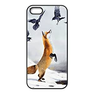 High quality Cute fox series protective case cover For Iphone 4 4S case covery-fcb-u4826