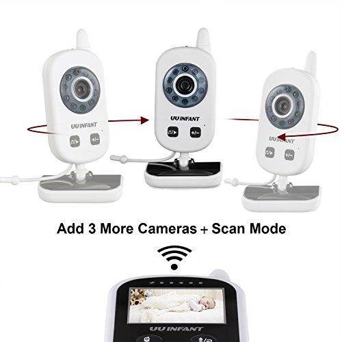 UU Infant Video Baby Monitor with Digital Camera UU24