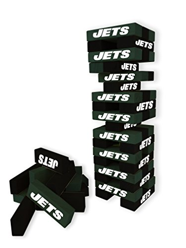 Wild Sports NFL New York Jets Table Top Stackers Game (Ny Jets Games)