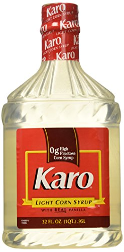 - Karo Light Corn Syrup 32 Fl Oz. .95l