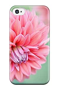 Everett L. Carrasquillo's Shop New Premium Pink Chrysanthemum Skin Case Cover Excellent Fitted For Iphone 4/4s 6588083K92799997