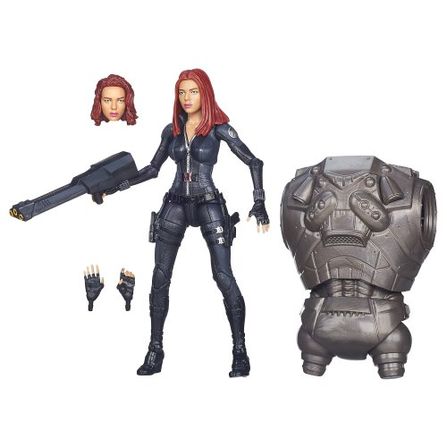 Captain America Marvel Legends Black Widow Figure 6 Inches -