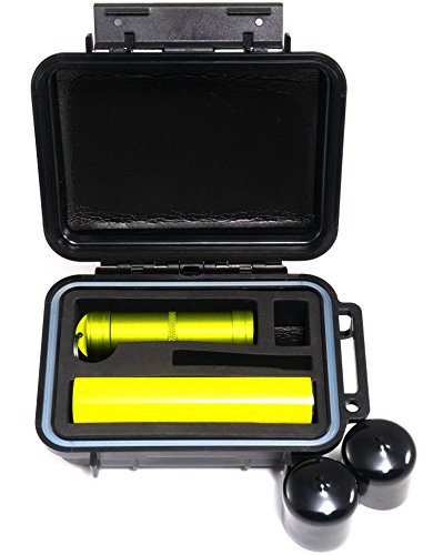 Bomber CASE - Pax 2 & Pax 3 Smell Proof Case - Includes Material Bottle and Odor Proof Bumper End Caps by BOMBER CASE