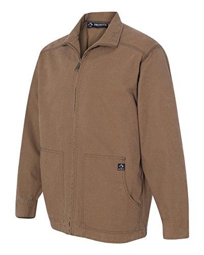 DRI Duck Men's 5038 Trail Canyon Cloth Unlined Canvas Work Jacket (3X-Large, Field Khaki)