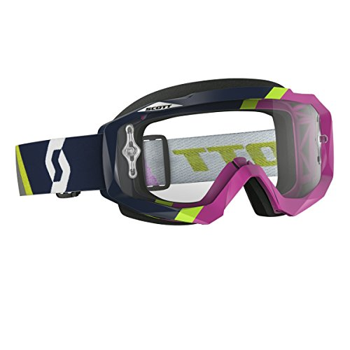 Messieurs MX lunettes Scott Hustle MX Asymmetric Dark Blue/Rose bleu
