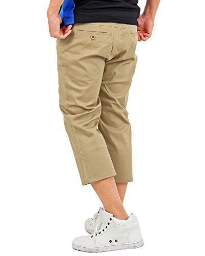 [トップイズム] ゴルフパンツ メンズ ストレッチ クロップドショートパンツ