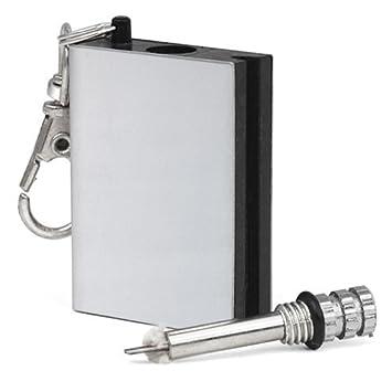 a-goo permanente Match Box Mechero de metal con llavero ...
