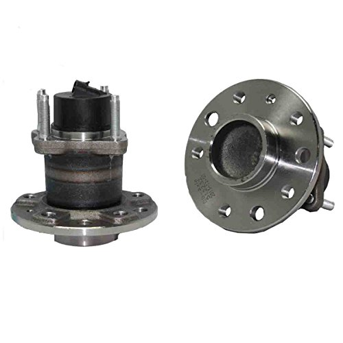 New (Both) Rear Wheel Hub and Bearing Assembly for 1999-2009 Saab '9-5 5 Lug W/ABS (Pair) 512232 x2 ()
