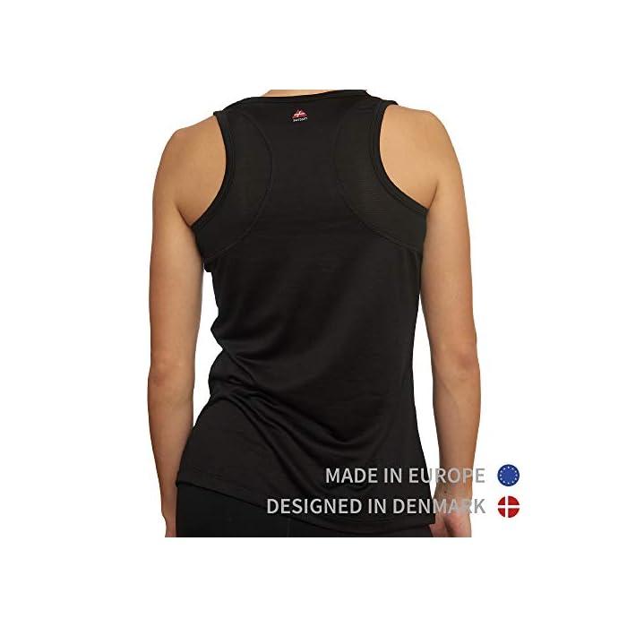 410I7gwPloL LA ELECCIÓN SOSTENIBLE PARA TU ENTRENAMIENTO: Nuestros tops de deporte SUTAIN para mujeres están hechos con materiales 100% reciclados a partir de y botellas de plástico recicladas. Estas camisetas están certificadas por OEKO-TEX estándar 100, BlueSign y GRS para entrenar cómoda y sosteniblemente TRANSPIRABLE Y CÓMODA: Esta camiseta sin mangas para mujeres, tiene un ajuste ceñido y se moldeará a la forma de cuerpo, aportándote libertad de movimiento. Esta camiseta de tirantes tiene incorporada un tejido en malla en la espalda para permitir que la piel respire durante los entrenamientos Materiales: Poliéster 100% reciclado