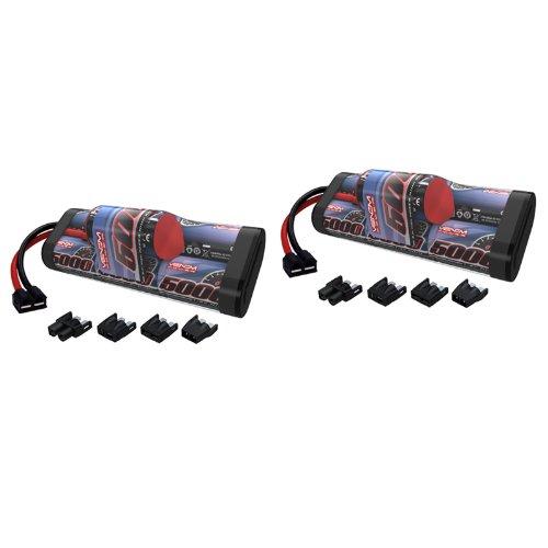 Venom 8.4V 5000mAh 7-Cell Hump NiMH Battery with Universal Plug (EC3/Deans/Traxxas/Tamiya) x2 Packs