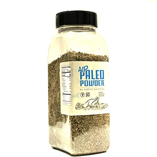 Paleo Powder Autoimmune Protocol All Purpose Seasoning. The Original Paleo AIP Seasoning Great for All Paleo Diets! Certified Ketogenic Food, Paleo Whole 30, AIP Food, Gluten Free Seasoning | 24 Fl Oz