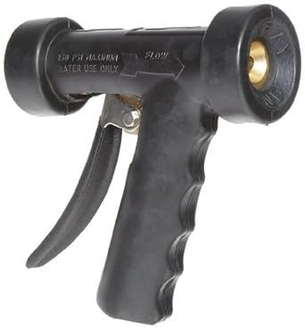 "Dixon BWSG Brass Hot Water Washdown Spray Nozzle, 1/2"" NPT Female Inlet, Black"