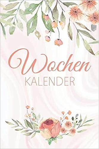 Wochenkalender: Zeitloser Taschenkalender ohne festes Datum ...