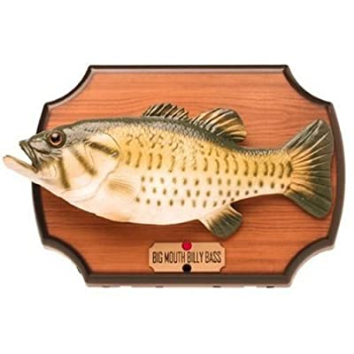 Samorthatrade Big Mouth Billy Bass The Motion Activated Singing Sensation: Toys & Games