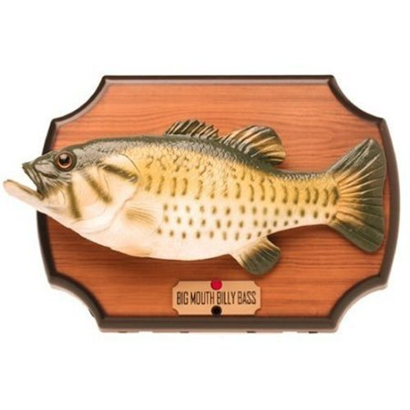 Big Mouth Billy Bass the Motion Activated Singing (Big Mouth Bass)
