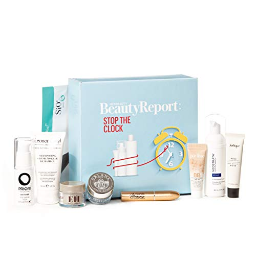 NewBeauty BeautyReport Stop The Clock Box | Complete Anti-Aging Regimen ft. Purlisse, Neostrata, Leonor Greyl, Grande Cosmetics, Priori, SiO Beauty, Orlane, Jurlique, Emma Hardie ($210 Value)