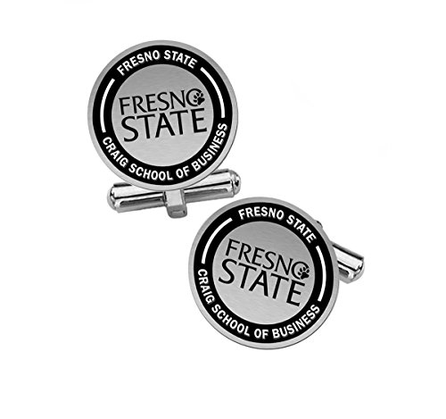 Craig School of Business Cuff Links | Fresno State University by College Jewelry