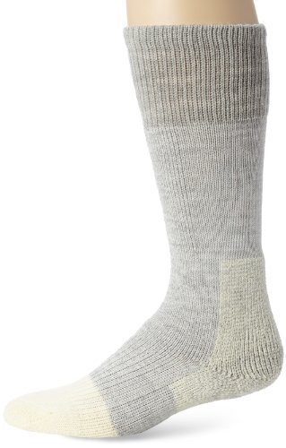 Thorlos Padded Extreme Cold Over the Calf Sock Gray (Over 60 Benefits)