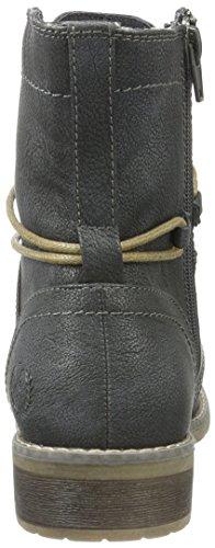 210 Stiefel Kurzschaft KLAIN Damen Graphite JANE Schnürstiefelette Grau qtwnT8d8xY