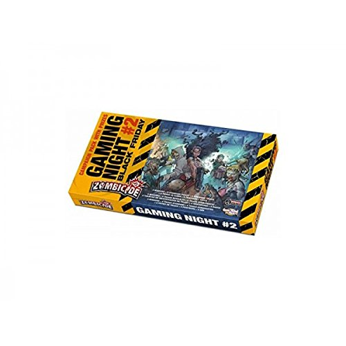 Cool Mini Or Not GUG0039 Zombicide Game Night Kit 2 - Black