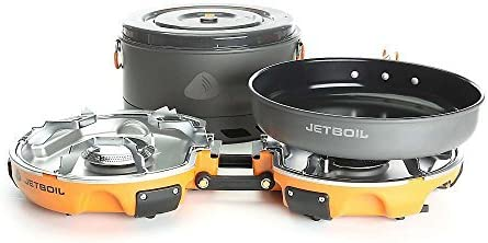 Jetboil Genesis Base Camp 2 Burner System One Size by: Amazon ...