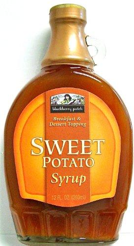 Sweet Potato Syrup (SUGAR) 12 oz Breakfast & Dessert Topping