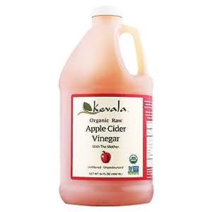 Kevala Organic Apple Cider Vinegar, 64 Fluid Ounce