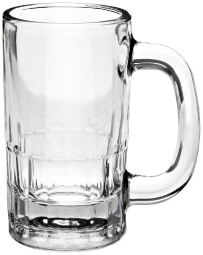 Anchor Hocking 18U 4-3/4 Inch Diameter x 5-5/8 Inch Height, 12-Ounce Beer Mug (Case of 24) by Anchor Hocking