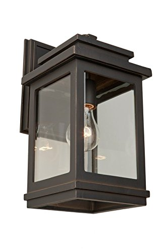 Artcraft Lighting Fremont Outdoor Wall Sconce, Oil Rubbed Bronze