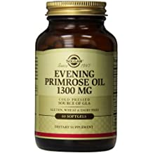 Solgar – Evening Primrose Oil, 1300 mg, 60 Softgels