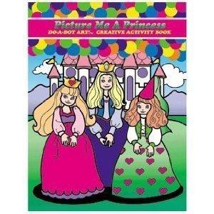 Do A Dot Art Princess Book Activity Book