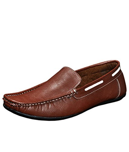 71231b2e474c Red Rose Men s White Loafer - 10  Buy Online at Low Prices in India ...