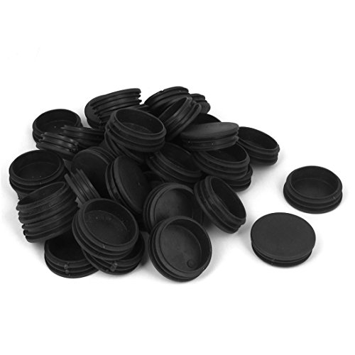 UXcell Plastic Home Round Tubing Hole End Cap Cover Pipe ...