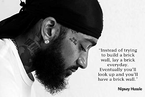 Prime Savings Club: Officially Licensed Hip Hop Nipsey Hussle Palm Trees – Wall Art – Print Poster 24″x36″