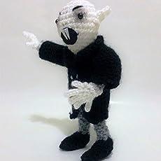 Nosferatu amigurumi doll …